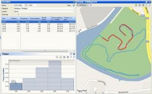 wedstrijdverloop: te snelle start dus verval in de laatste 2 kilometer