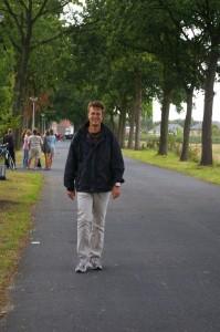 Ik weet het er moet daar ergens een vijs verkeerd zitten bij mij, wandeltochten loop ik en deze jogging wandel ik, maar allee... :)
