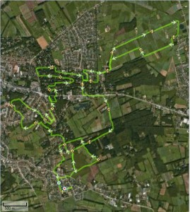 route wandeling in en rond ver-Assebroek