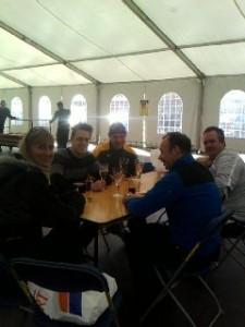 afterparty: de tent sluiten met blog en facebook-friends