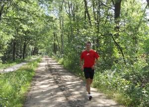 lopen door de Stabrechtse Heide nabij Geldrop