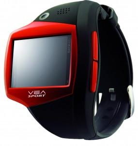 De Vea Sportive is een horloge ontwikkeld door Vea Digital, een frans bedrijf dat voornamelijk is gespecialiseerd in GSM technologie maar zich dus nu ook op de sportieve markt stort.
