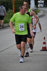 Peter loopt een mooi gestaag tempo (foto: Robin De Bie)