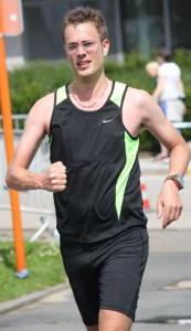 Ik bereik het 60 kilometer punt! (foto: Paul Van Hiel)