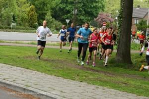 Net na de start (foto: Wim Derksen)
