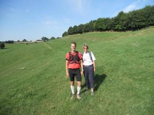 met Jannet Lange, de eerste Nederlandse die de spartathlon uitliep