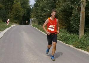 bijna aan de finish, nog 400 meter (foto: Jessie)