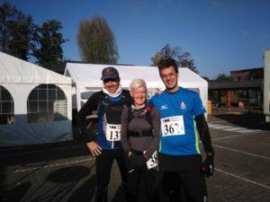 voor de start Bart - Veerle - Peter (foto: Veerle Tesse)