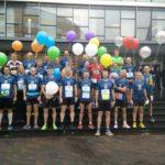 groepsfoto – de pacers voor Eindhoven (foto: Nico)