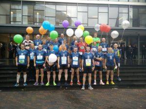 groepsfoto - de pacers voor Eindhoven (foto: Nico)